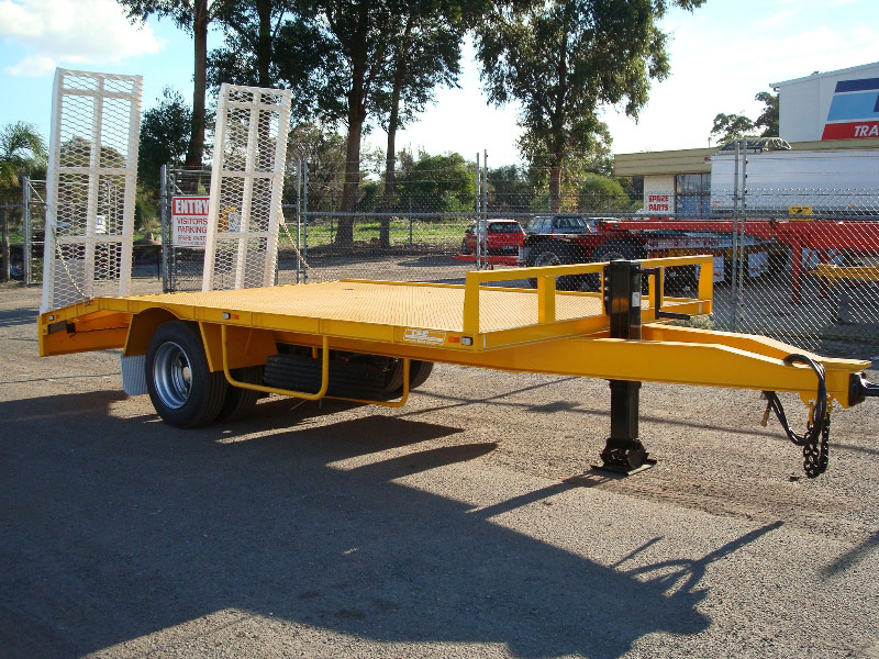 Trailer with Auto Electrics installed by Class 1 Auto Electrics